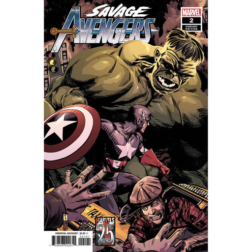 Savage Avengers #2 Coker Marvels 25th Tribute Var-Georgetown Comics