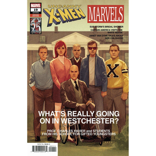 Uncanny X-Men #19 Noto Marvels 25th Tribute Var-Georgetown Comics