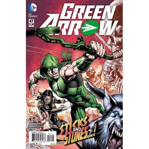 Green Arrow #47 (2015)-Georgetown Comics