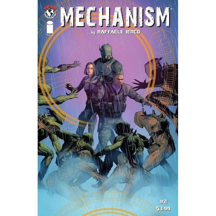 Mechanism #2 Cvr A Ienco-Georgetown Comics