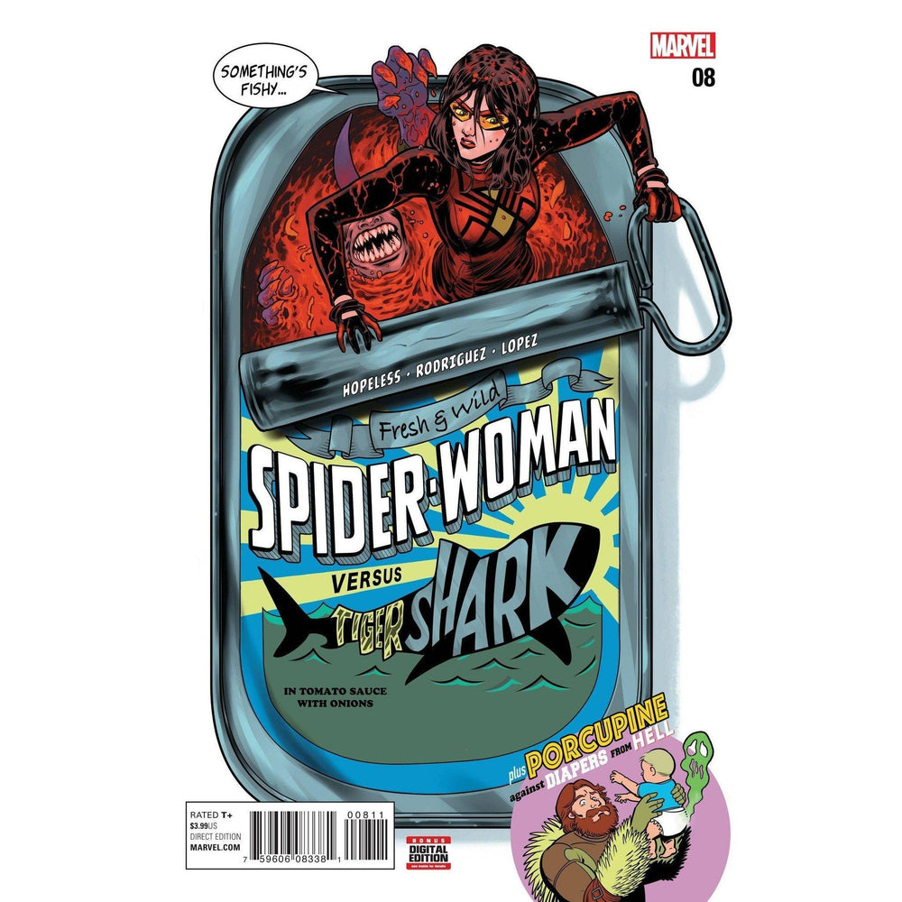 Spider-Woman #8-Georgetown Comics
