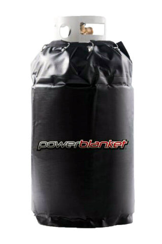GCW40 - 40lb Gas Cylinder Heater, 90°F, 120V, 280 Watts, 2.33 Amps - Powerblanket Shop  - 1