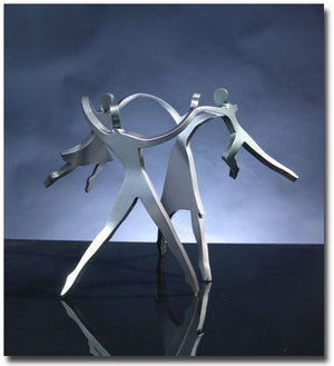 Family of 4 Dancers Sculpture