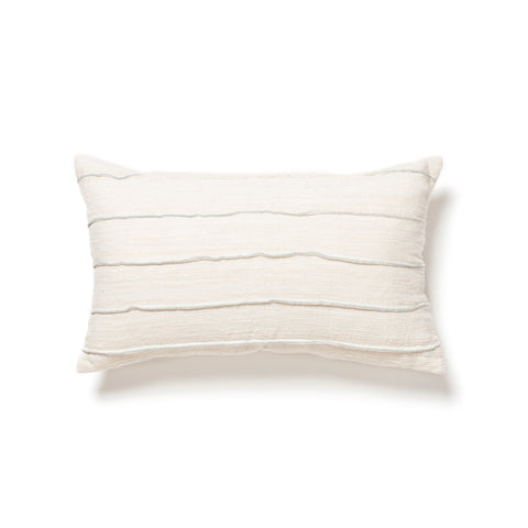folded cotton and silk bolster maeree