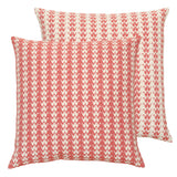 safomasi coral crane cushion at maeree