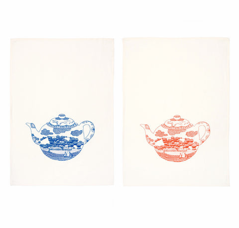 Teapot Tea Towels