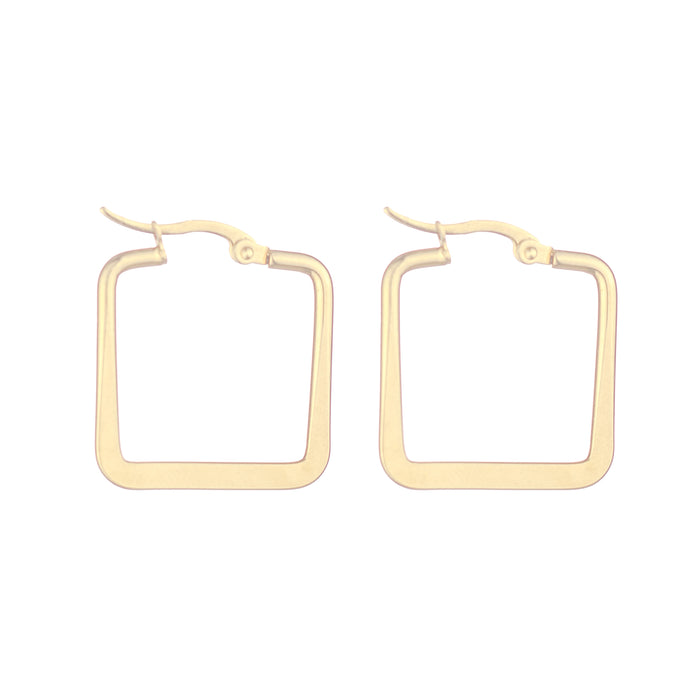 Small Square Hoop Earrings