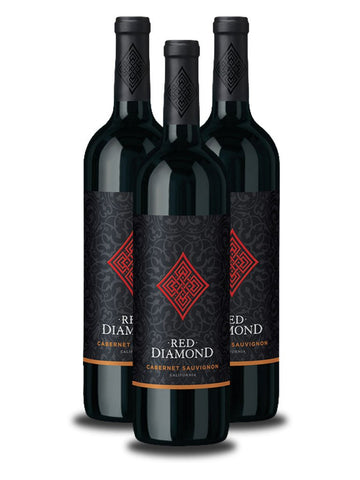 3 Botellas de Red Diamond Cabernet Sauvignon 2012
