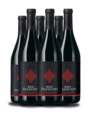 Caja de Red Diamond Pinot Noir 2013, 6 bot.