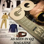 Colville Leather's oak bark leather belt featured in GQ magazine