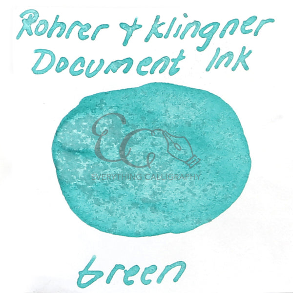 Rohrer & Klingner Document Inks