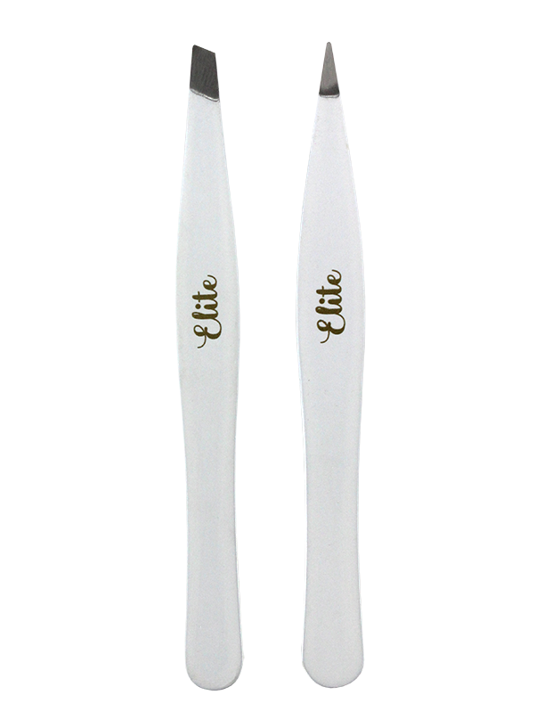 2PC SOFT TOUCH TWEEZER SET