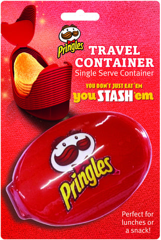 Pringles Travel Container