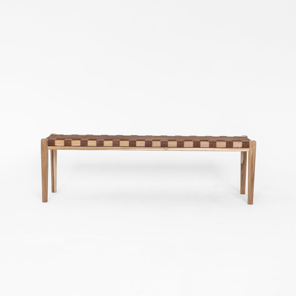Ernie Bench Seat | Brown - McMullin & co.