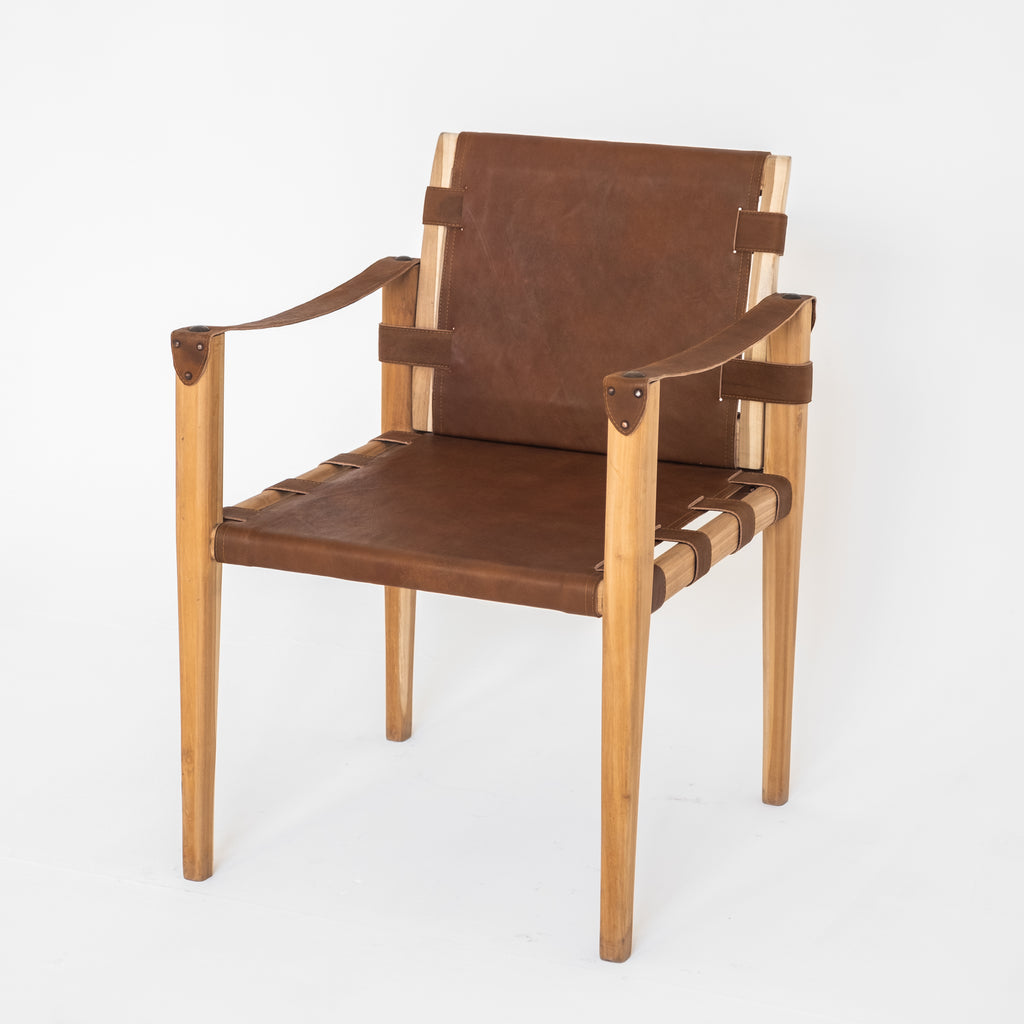 Barney Chair | Brown - McMullin & co.