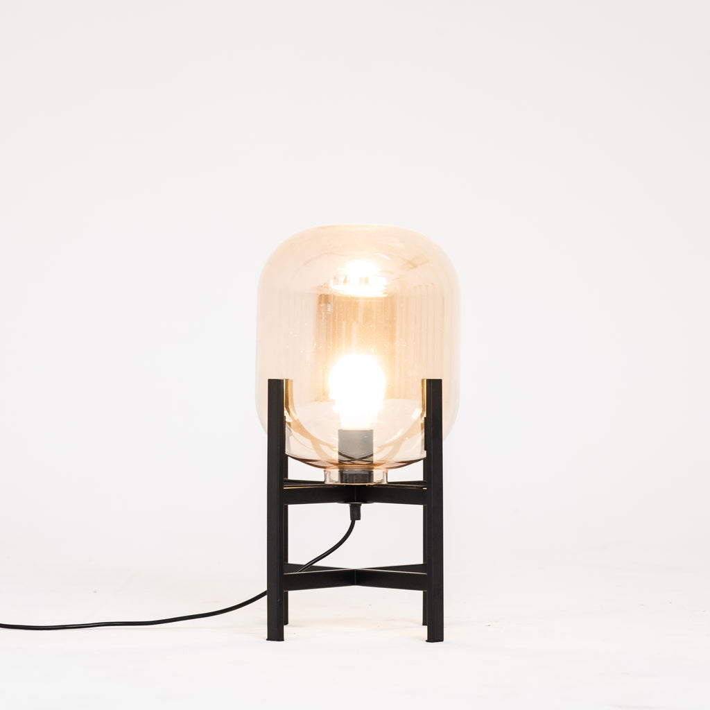 Hector Table Lamp | Amber - McMullin & co.
