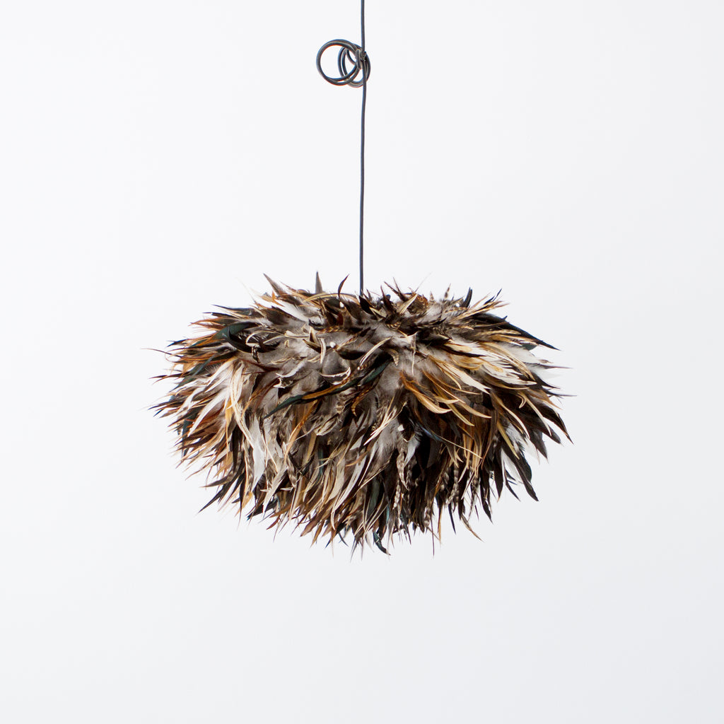 Bruno Feathered Light Shade - McMullin & co.