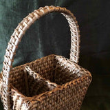 Rattan 2 in 1 Cutlery Holder(Natural)