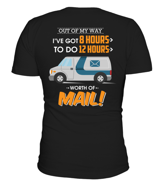 I Know The Worth Of Mail Shirt - Giggle Rich - 1