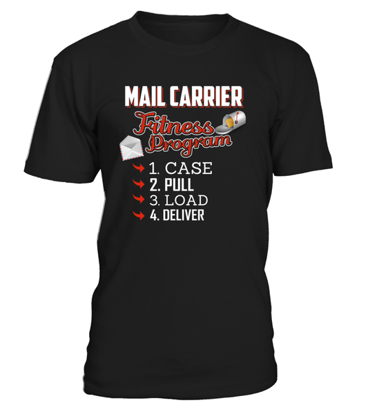 Mail Carrier Fitness Program Shirt - Giggle Rich - 3