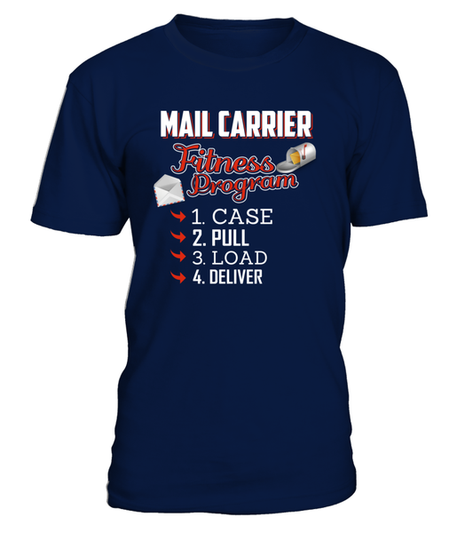Mail Carrier Fitness Program Shirt - Giggle Rich - 2