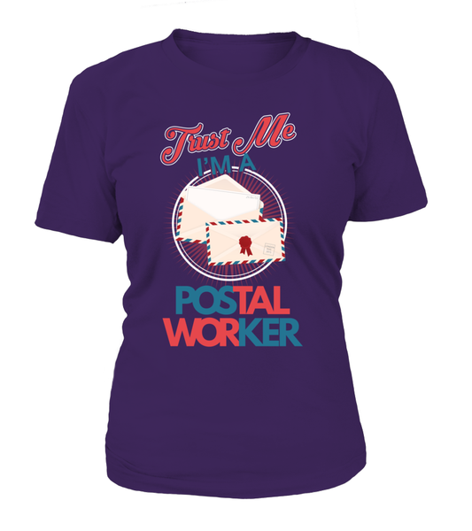 Trust Me I'M A Postal Worker Shirt - Giggle Rich - 3