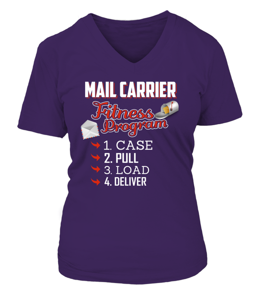 Mail Carrier Fitness Program Shirt - Giggle Rich - 8