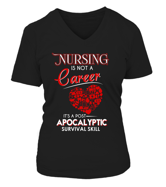 Nursing Is Not A Career Shirt - Giggle Rich - 8