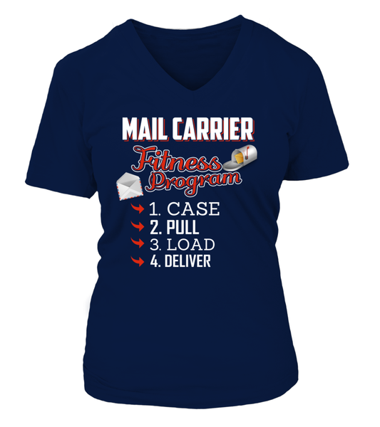 Mail Carrier Fitness Program Shirt - Giggle Rich - 7
