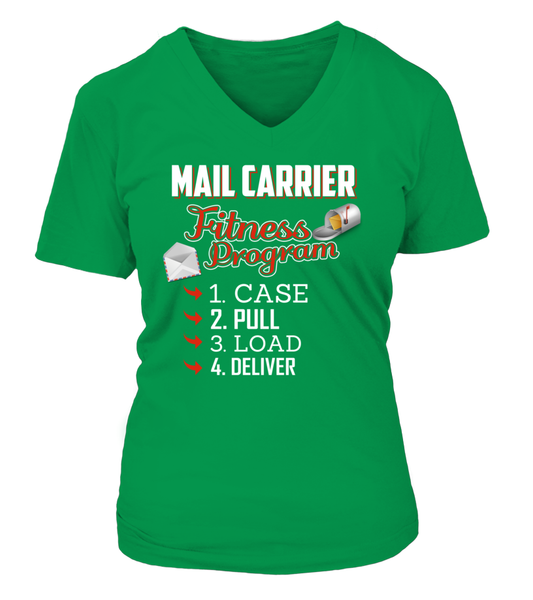 Mail Carrier Fitness Program Shirt - Giggle Rich - 9