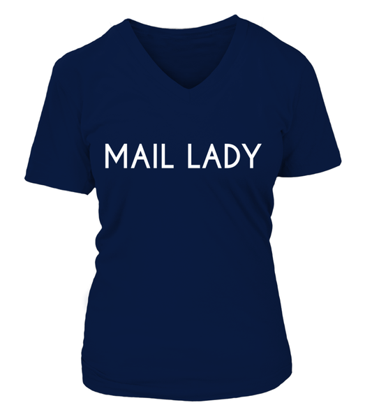Never Underestimate The Power Of A Mail Lady Shirt - Giggle Rich - 25
