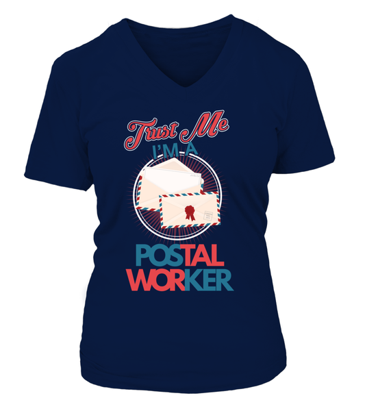 Trust Me I'M A Postal Worker Shirt - Giggle Rich - 9
