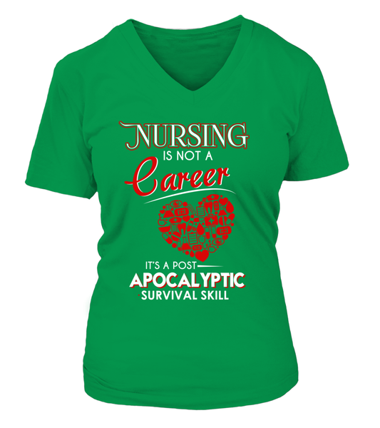 Nursing Is Not A Career Shirt - Giggle Rich - 11