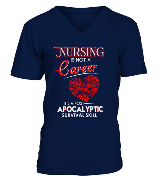 Nursing Is Not A Career Shirt - Giggle Rich - 2