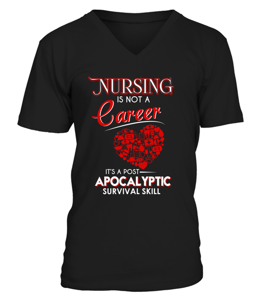 Nursing Is Not A Career Shirt - Giggle Rich - 1