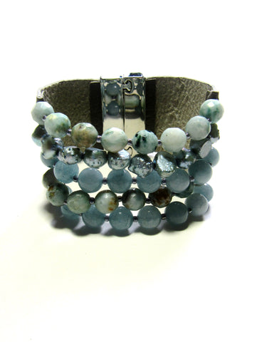Lindero Bracelet - Amazonite Mix