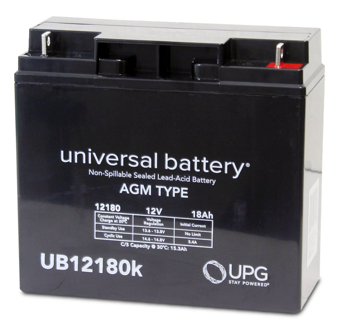 Sealed Lead Acid Batteries/AMG UB12180 SLA Battery 12V 18Ah / Terminal T4 - D5745