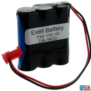 Image of Emergency Lighting Battery Fits Sure-Lites 026-148, 26-148, LPX70RWH