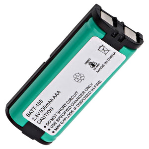Image of Panasonic HHR-P105 Cordless Phone Compatible Battery