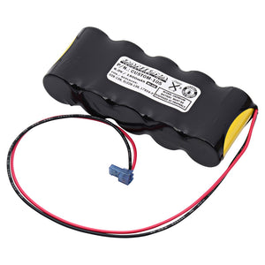 Image of Emergency Lighting Battery CUSTOM-105 Replaces Interstate - NIC0636, Teig - T26000139