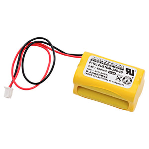 Image of Emegency Lighting Battery Fits Lithonia D-AA650BX4 Squared Shape Pack