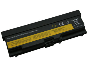 Image of 9 Cell 6600 mAh Li-Ion Laptop Battery for Lenovo ThinkPad - multiple models