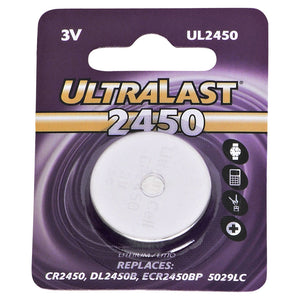 Image of Ultralast CMOS/BIOS Battery 2450 CR2450