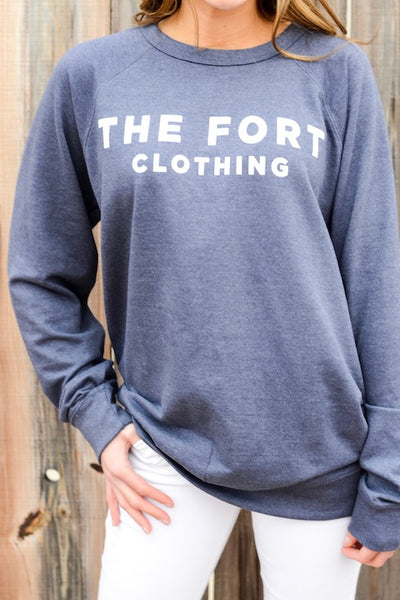 The Fort Denim Sweatshirt