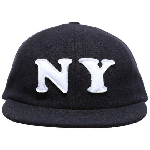 City 6 Panel Cap Navy