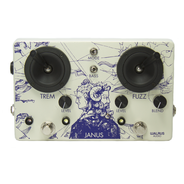 Janus Fuzz/Tremolo with Joystick Control