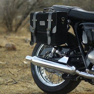 Hybrid Saddlebag Warrior All Black