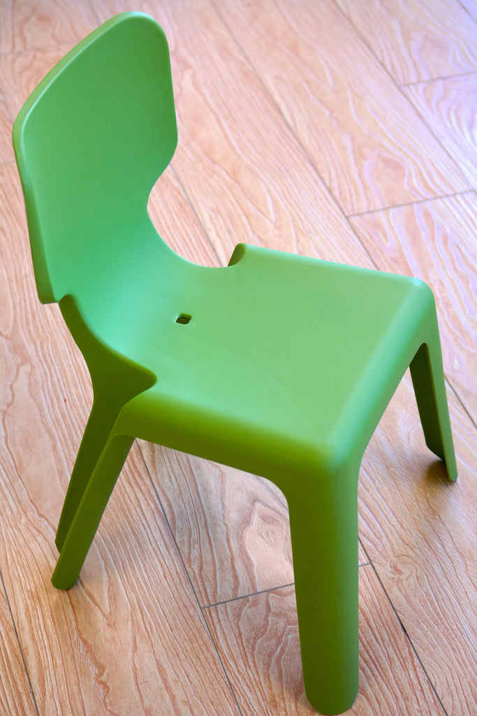 "HappyKids Children Chair - Lime Green 23""H"