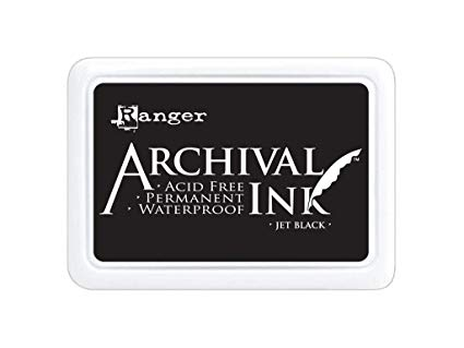 Archival Ink Pad XL JET BLACK