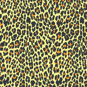 Pop Leopard Vector Pattern